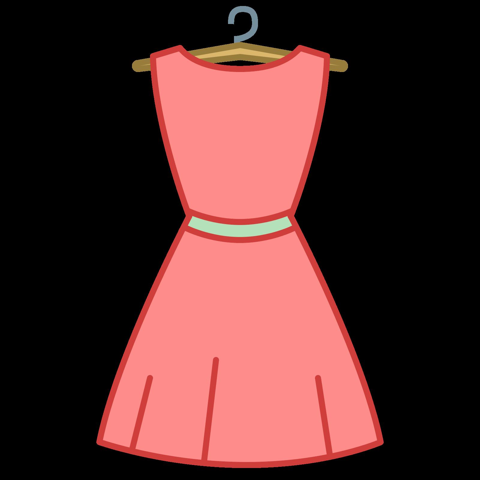 dress clipart icon 14